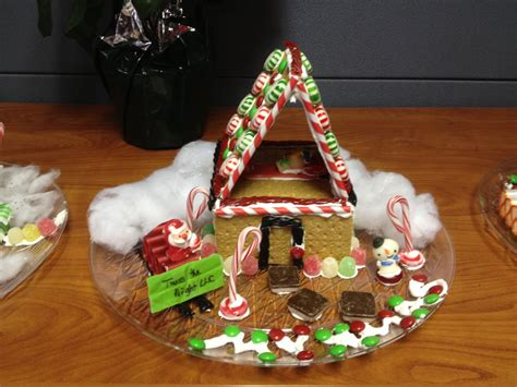 creative gingerbread houses and the winners of mycorp s gingerbread house challenge are mycorporation blog