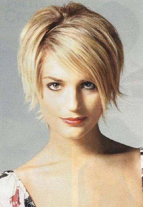 short haircut for thin face 2015 short hairstyles for round faces