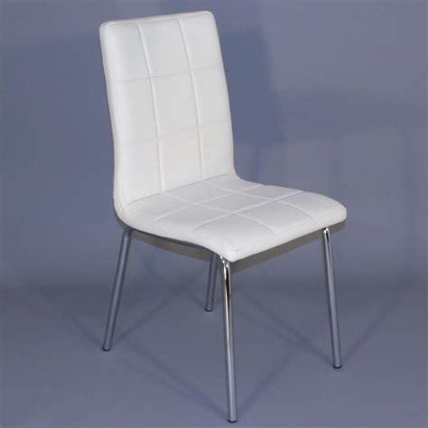 lot de 4 chaises blanches chaises pour salles 224 manger comparez les prix pour