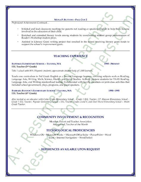 Bilingual Teacher Resume Samples – Resume Samples: Bilingual Teacher Resume Sample