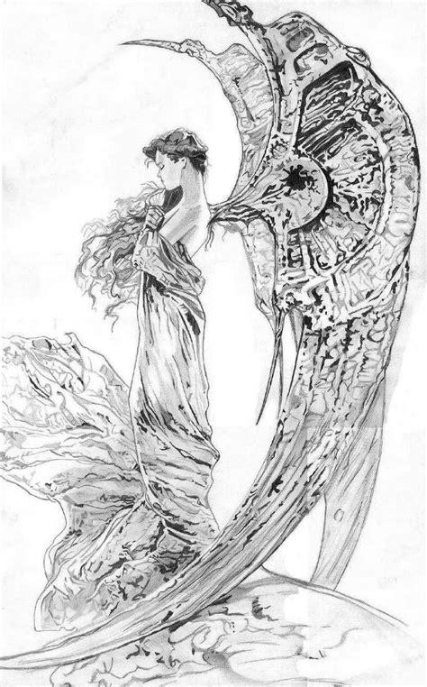 imagenes a lapiz de angeles dibujos a l 225 piz de 225 ngeles imagui
