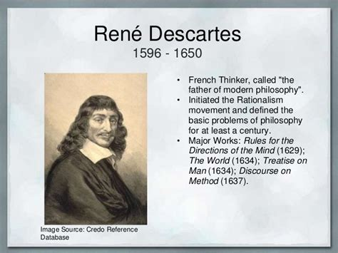 contemporary biography definition rene descartes was one of the most famous philosophers of