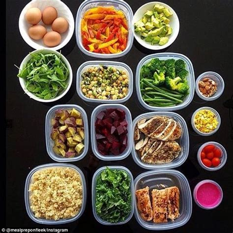 healthy fats with each meal benbow shares top meal prep tips daily mail