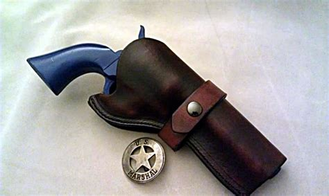 Handmade Holsters - custom leather holster for 5 barrel revolvers or