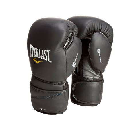 Everlast Protex 2 Boxing Gloves Muay Thai everlast protex 2 leather bag gloves black mma boxing heavy bag ebay