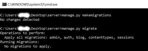 django tutorial makemigrations python basic comment system using django free source