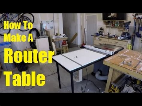 router table extension wing youtube