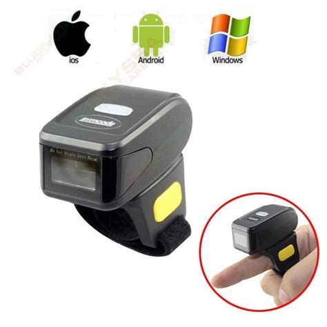 bar scanner for android aliexpress buy portable 1d bar code scanner bluetooth wireless mini ring finger barcode