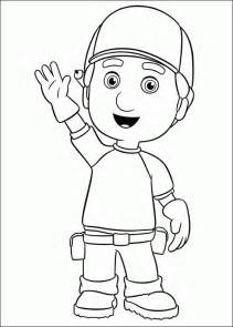 handy manny coloring pages coloringpagesabc