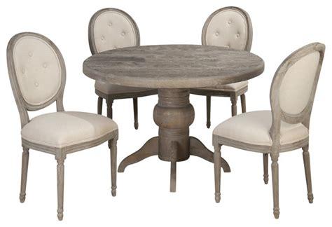 48 inch dining table set jofran burnt grey 5 48 inch dining room set w