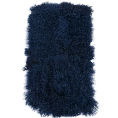 mongolian fur rug mongolian fur rug blue curly hair