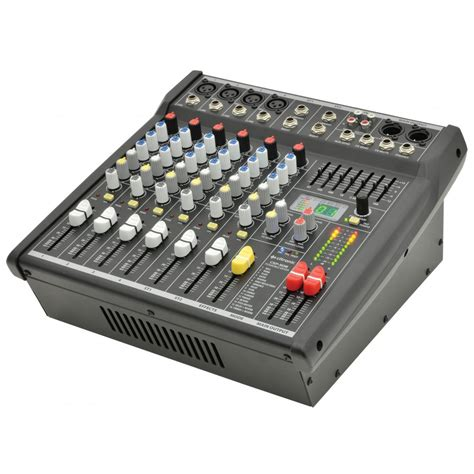 Mixer Cina 4 Channel csp 4 channel compact powered mixer lifier 400w rms digital dsp fx