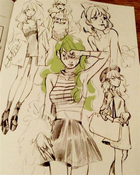 D Sketches by Sketches By Lesliehung For Snotgirl Bryanleeomalley