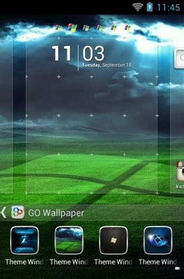themes for windows 7 android windows 7 android theme for go launcher androidlooks com