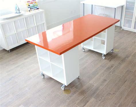 diy craft table ikea best 25 craft tables ideas on diy crafts desk