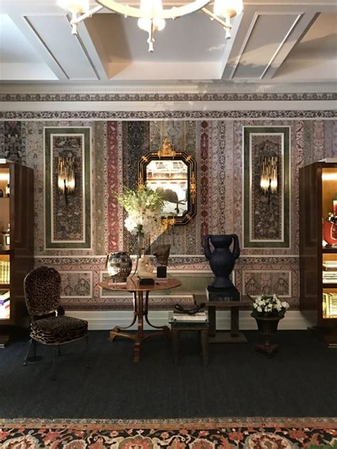 kips bay show house 2017 habitually chic 174 187 richard mishaan s patterned parlor room