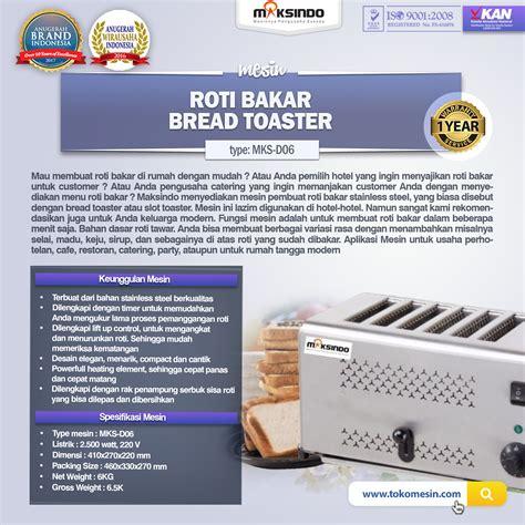 Toaster Roti Bakar jual mesin bread toaster roti bakar d06 di