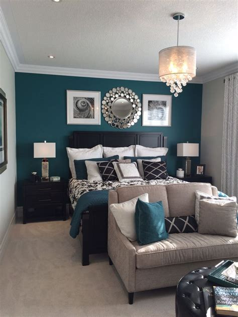 small master bedrooms best 25 teal bedroom walls ideas on teal