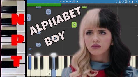 game boy keyboard tutorial melanie martinez alphabet boy piano tutorial youtube