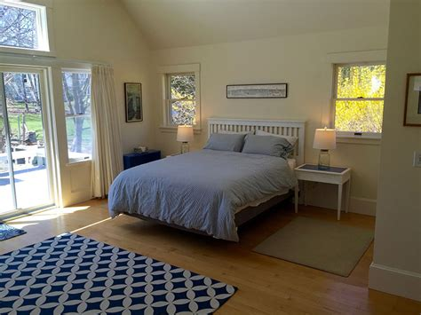 master bedroom first floor maine vacation rentals village rentals belmont house