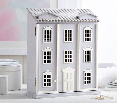 dollhouse jewelry cabinet dollhouse jewelry cabinet pottery barn