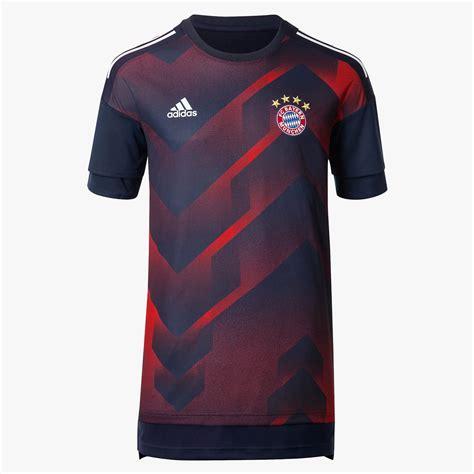 Jersey Bayern Munchen Pre Match 2016 2017 bayern munich 17 18 pre match shirt released footy headlines