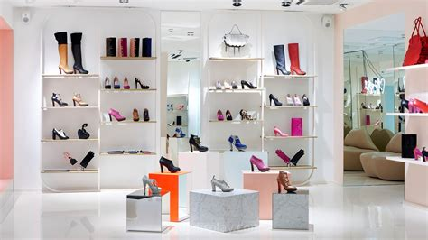 shoe boutique s shoes store display fixtures with mirror ud sh14
