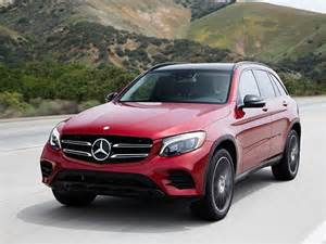 Mercedes Luxury Suv Small Luxury Suv Comparison 2016 Mercedes Glc