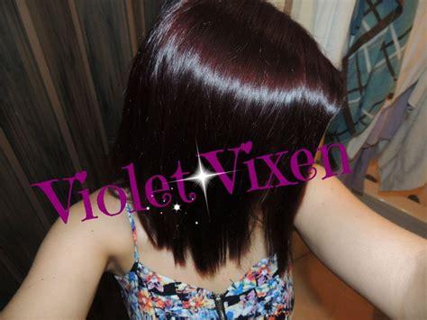 deep velvet violet hair dye african america review and demo l oreal paris feria power violet v48