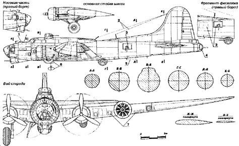 B 17 Sketches by Blueprint B 17