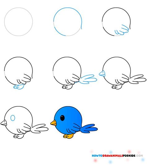 learn how to make doodle how to draw a bird step by step easy with pictures bird