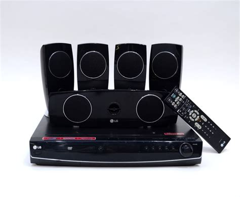 lg dvd lht854 home theater system 5 1 surround disc read