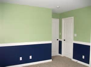 painting a room two colors the home design dining rooms with chair rails