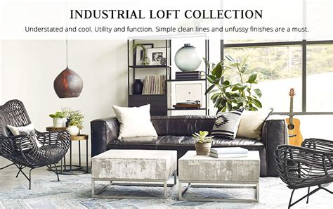 industrial loft decor industrial furniture industrial lighting kathy kuo home