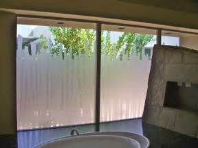 Turn Your Bath Into A Shower bathroom windows with etched glass designs for privacy