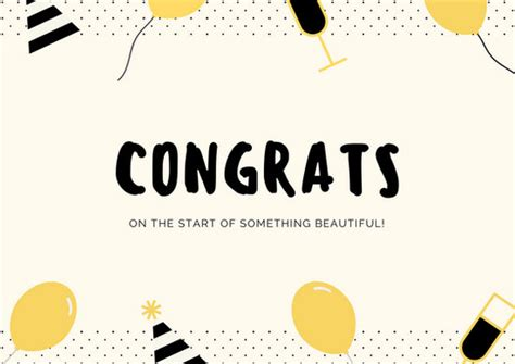 congrats card template congratulations card templates canva