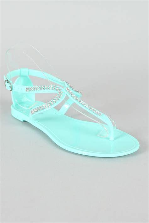 Sandal Flat Wanita Uj 309 24 best images about haute rhinestone shoes on