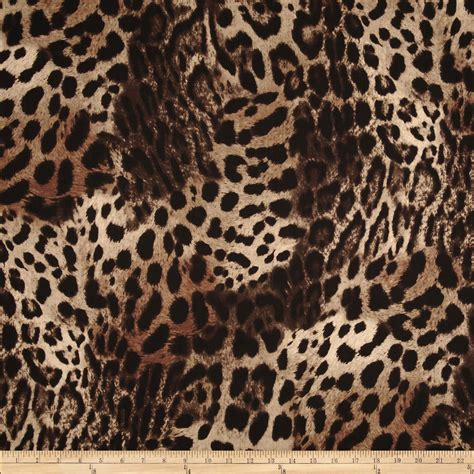 Animal Print Quilting Fabric by Skins Animal Print Taupe Fabric
