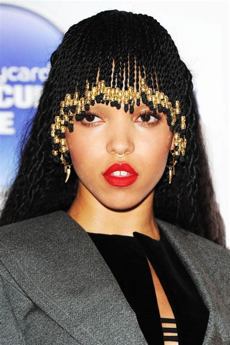 recent comment on african american braid style made by tv personality fka twigs just braided her bangs and it looks rad