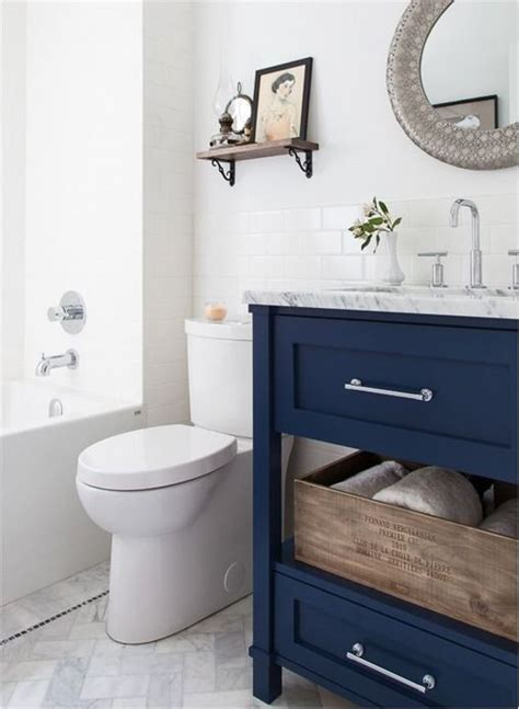 Navy Blue Bathroom Vanity » Home Design 2017