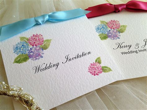 Wedding Invitations Hydrangea by Hydrangea Wedding Invitations 163 1 25 Each Wedding Invites