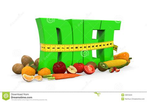 fruit 5 2 diet text diet with fruits and vegetables royalty free stock