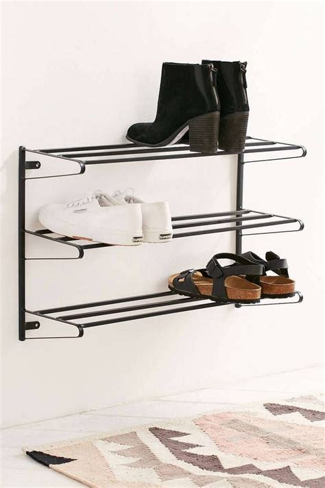Sneaker Wall Rack by 1000 Ideas About Wall Mounted Shoe Rack On
