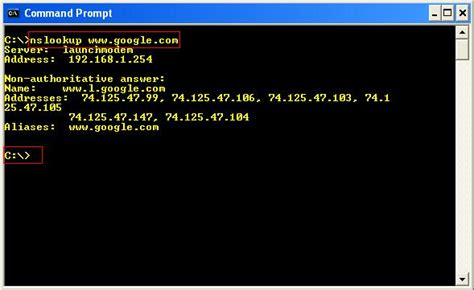Dns Lookup Nslookup Using Nslookup To Troubleshoot Dns Issues Itgeared