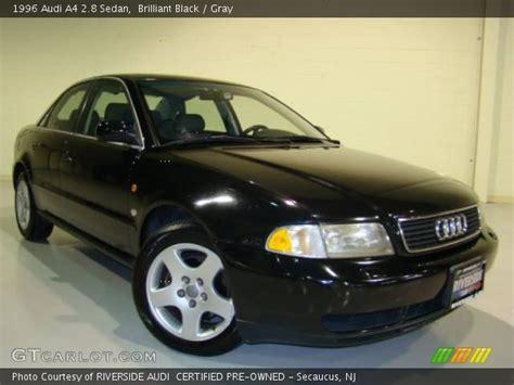 1996 audi a4 2 8 brilliant black 1996 audi a4 2 8 sedan gray interior
