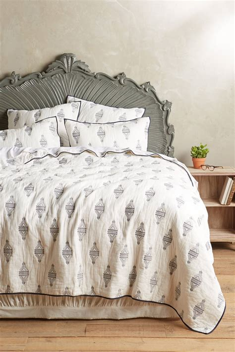 anthropologie bedding sale sale anthropologie eastern port coverlet buyma