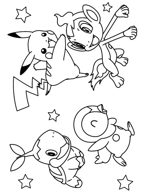coloring pages on pokemon free coloring pages of series pokemon