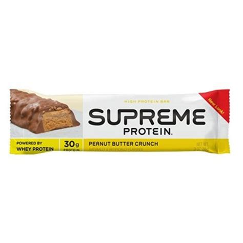supreme protein buy supreme protein bar chocolate peanut butter at well