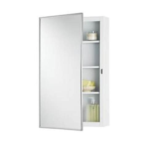 chrome framed medicine cabinet r260p26ch framed swing door medicine cabinet chrome at
