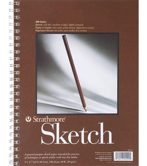 sketchbook spiral strathmore spiral sketchbook 11 quot x14 quot jo